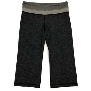 Lululemon Groove Crop Heathered Leggings Yoga Gym